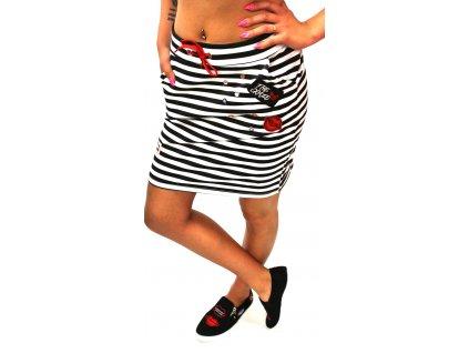Dámská sukně LOOK černá